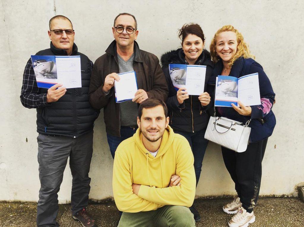 resultats examens permis bateau côtier et fluvial navipermis