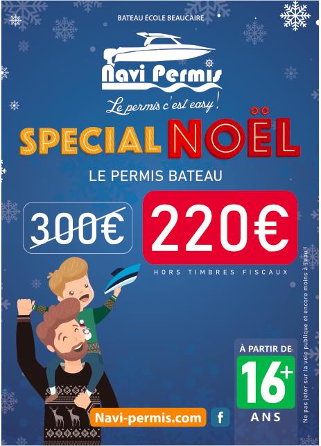 NAVIPERMIS OFFRE NOEL 2019 PERMIS BATEAU RECTO